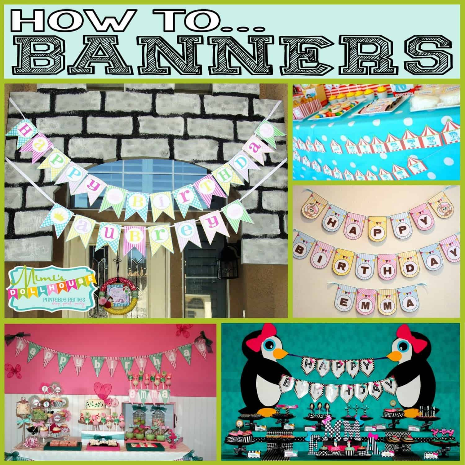 How to…Assemble and Hang a Banner