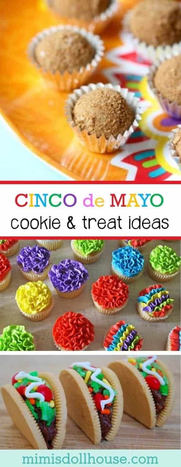 Cinco de Mayo: Cinco de Mayo Treat Ideas. Throwing a Cinco de Mayo party? Here are some great Cinco de Mayo treat ideas to spice things up.  Be sure to also check out our other Cinco de Mayo Party Ideas.