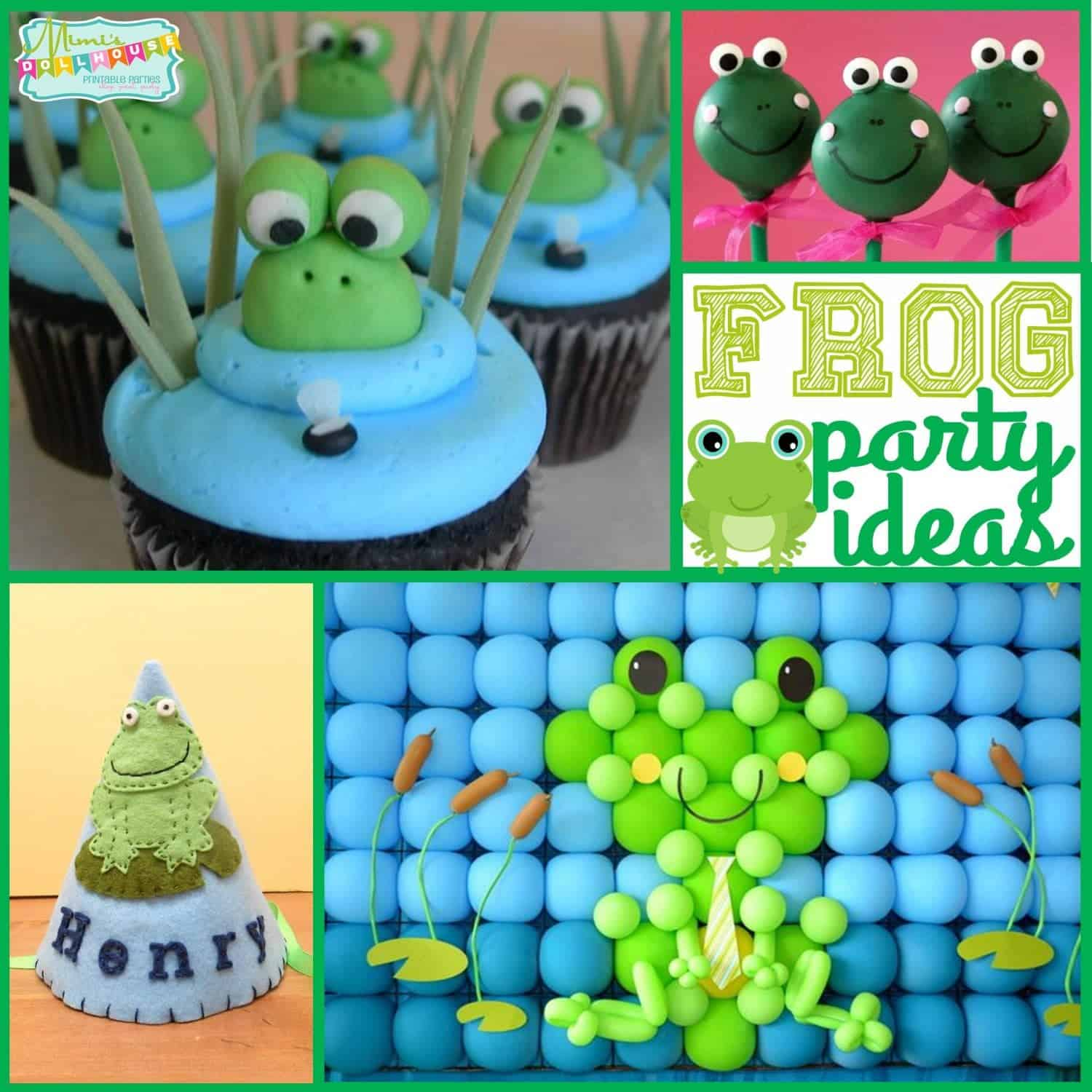 Frog Party: Hop over for some Frog Party Ideas