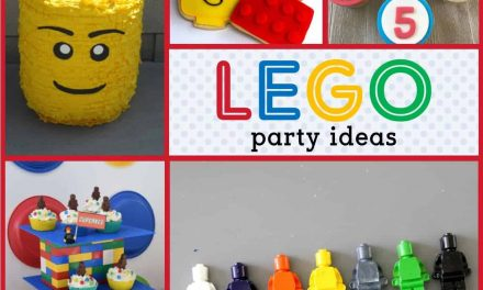 How to Build a Lego Birthday Party Ideas