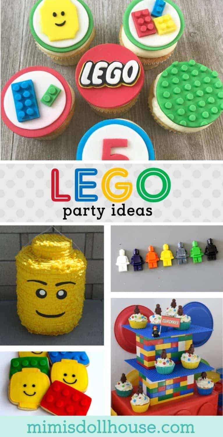 Looking for Lego birthday party ideas? This post has fun DIY lego foods and DIY lego games. It's full of ideas on how to make a lego party special and lego birthday party desserts and decorations. #legoparty #legobirthday #birthdayparty #partyideas #buildingblock #legopartyideas
