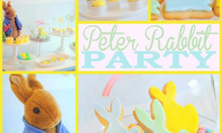 Peter Rabbit Party + Free Peter Rabbit Printables