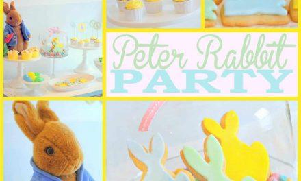 Peter Rabbit Party + Free Peter Rabbit Printables