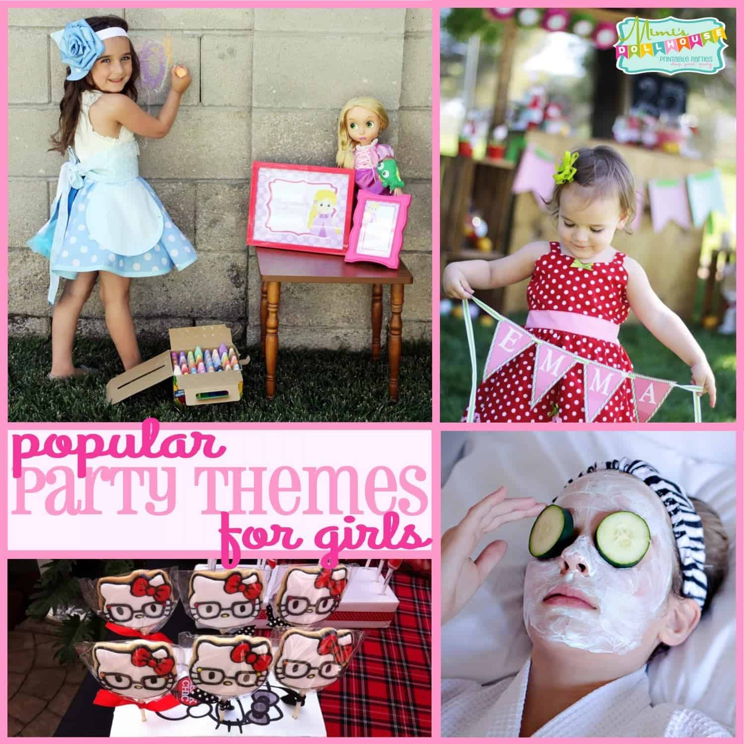 Trends: Popular Party Themes for Girls (Part 2)