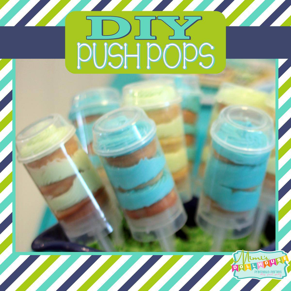 Kitchen Party: Easy Push Pops Tutorial | Mimi\'s Dollhouse