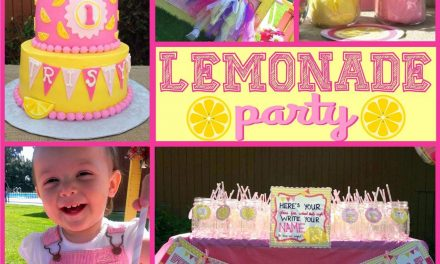 Lemonade Party: Tristyn's Lemonade Stand
