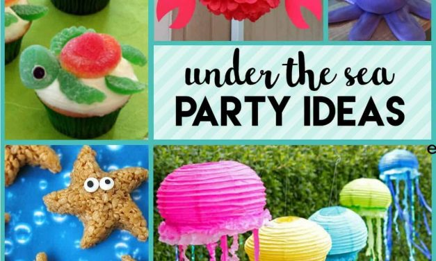 Unforgettable Under the Sea Party Ideas