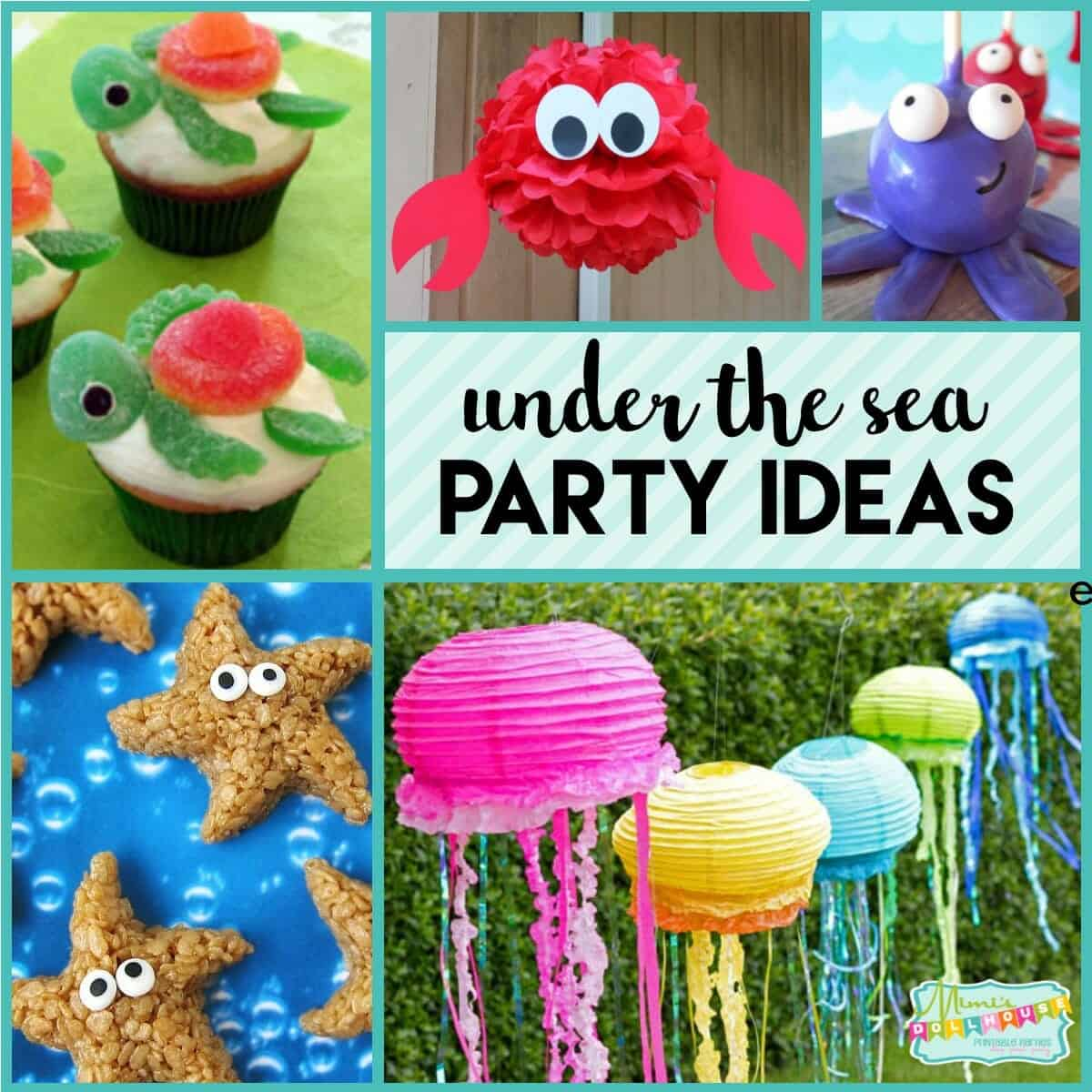 Under The Sea Party Fishy Fun With Ocean Party Ideas