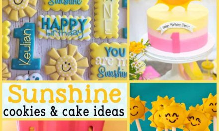 Amazing Sunshine Cake Recipes, Cupcakes + Desserts