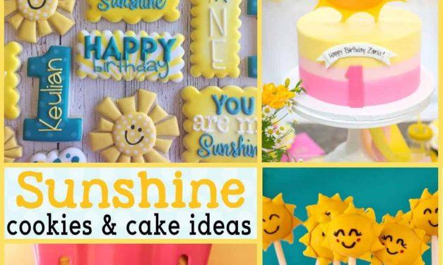 Amazing Sunshine Cake Recipes, Cupcakes + Desserts