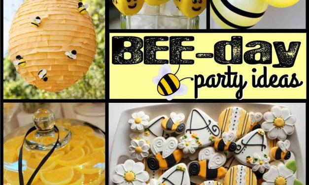Adorably Buzz-worthy Bee Party Ideas