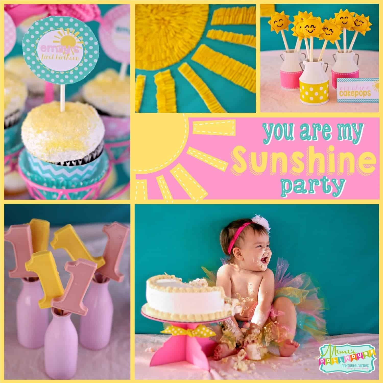 Sunshine Party: Emily's Sunshine First Birthday