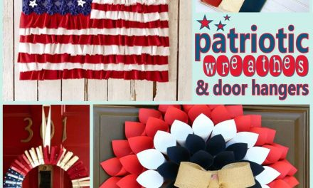 12 DIY Patriotic Wreath Ideas for July 4th