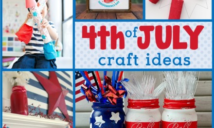 22 Easy 4th of July Craft Ideas + Patriotic Fourth of July DIY Ideas