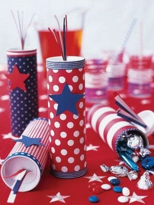 firecracker favor tube