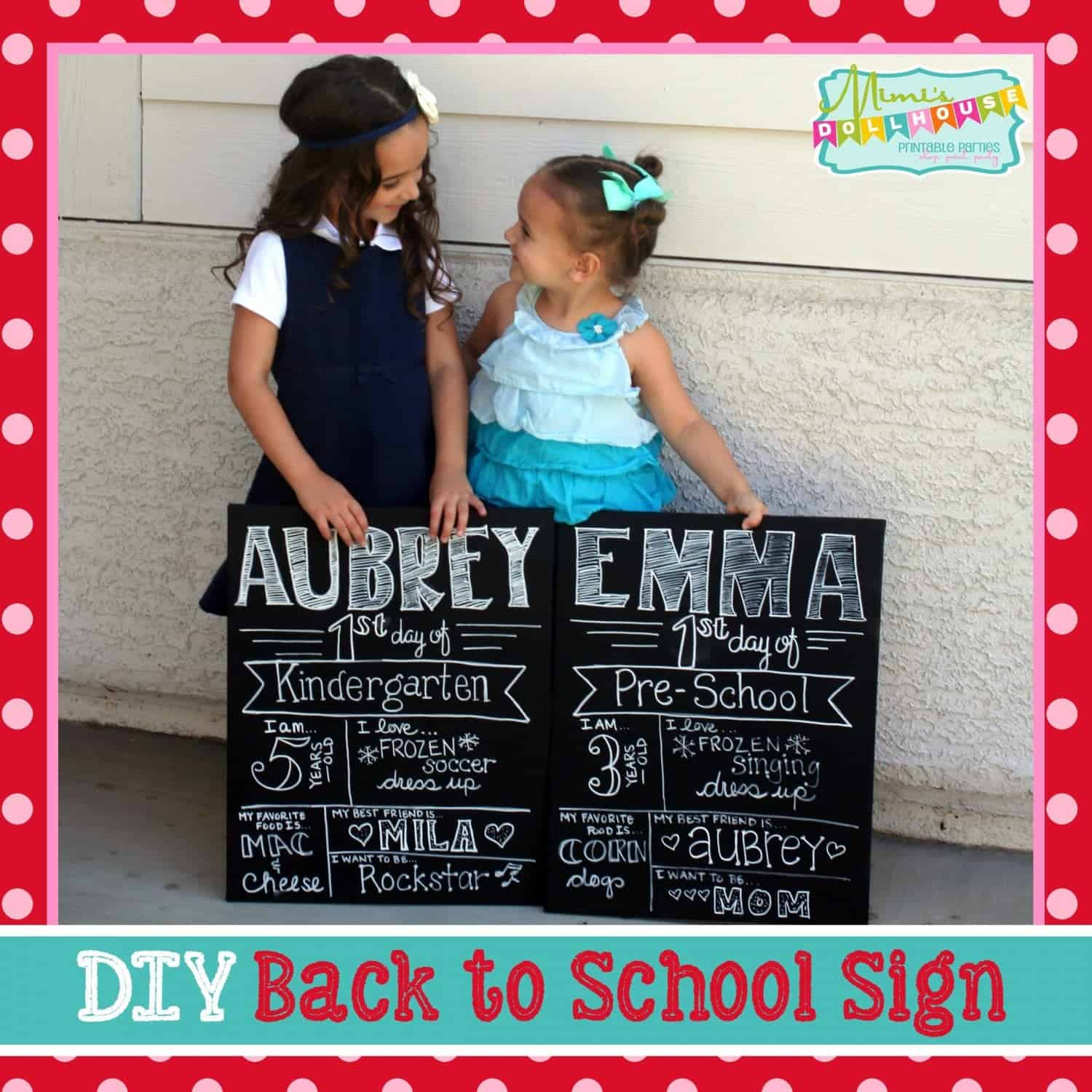 Back to School: Back to School Sign