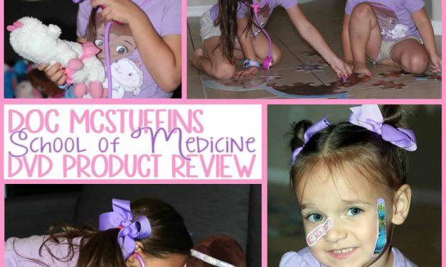 Product Review: Doc McStuffins- School Of Medicine DVD