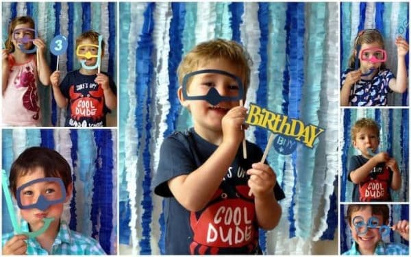 Under the sea TCLC - photo booth