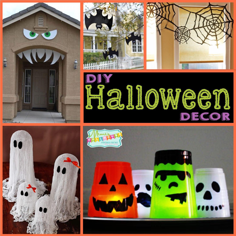 Halloween: DIY Halloween Decor