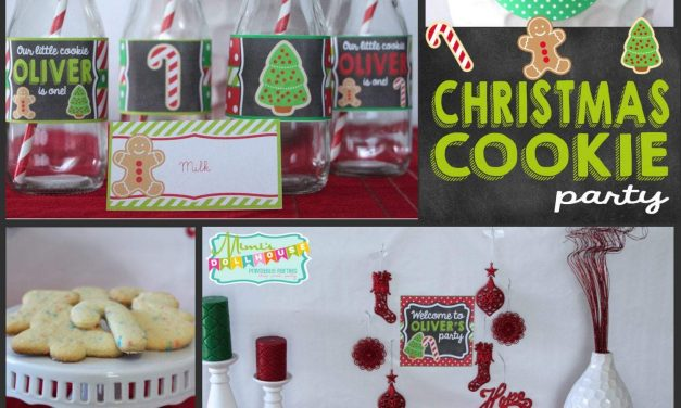 Christmas Cookie Party: Cookie Decorating Party
