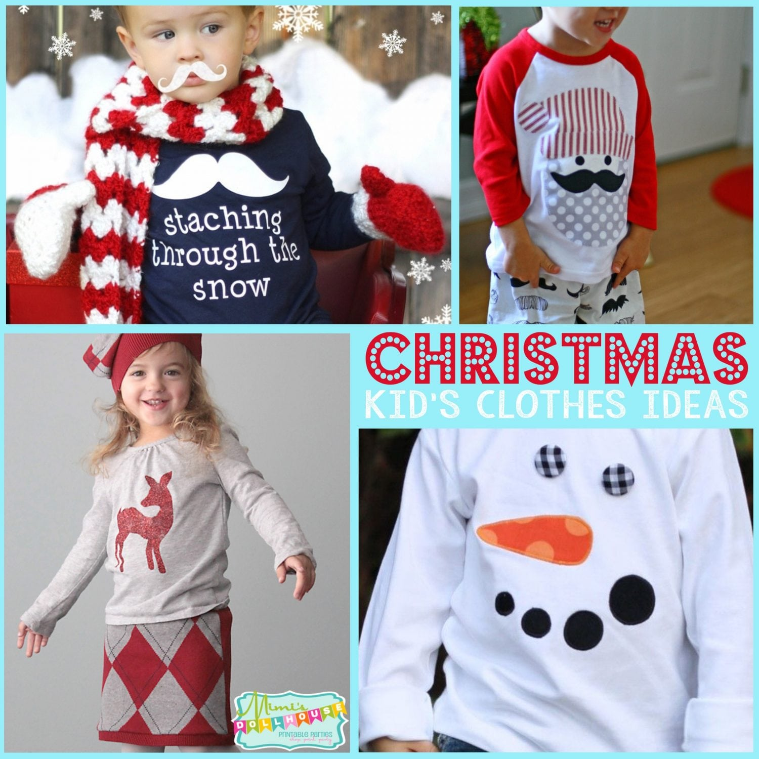 Christmas: Christmas Clothes Ideas for Kids