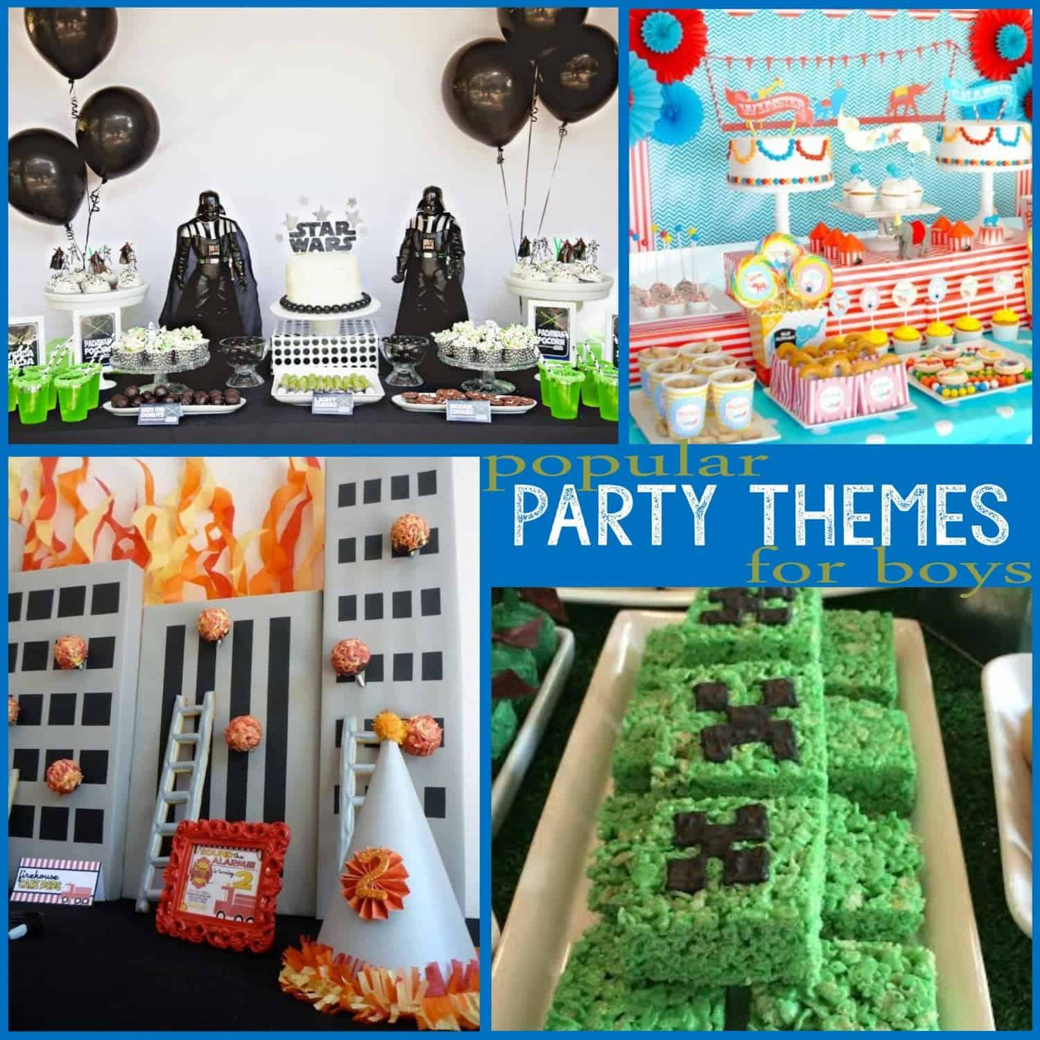 Trends: Popular Party Themes for Boys (Part 1)