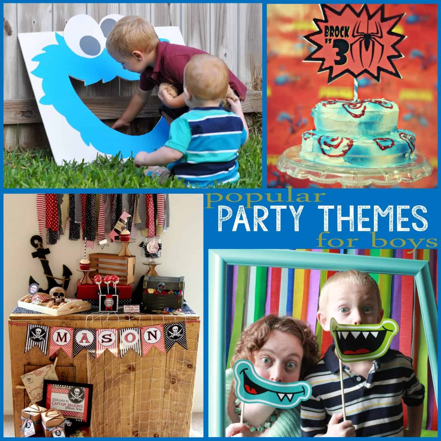 Trends: Popular Party Themes for Boys (Part 2)