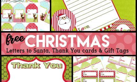 Christmas: FREE Christmas Gift Supplies