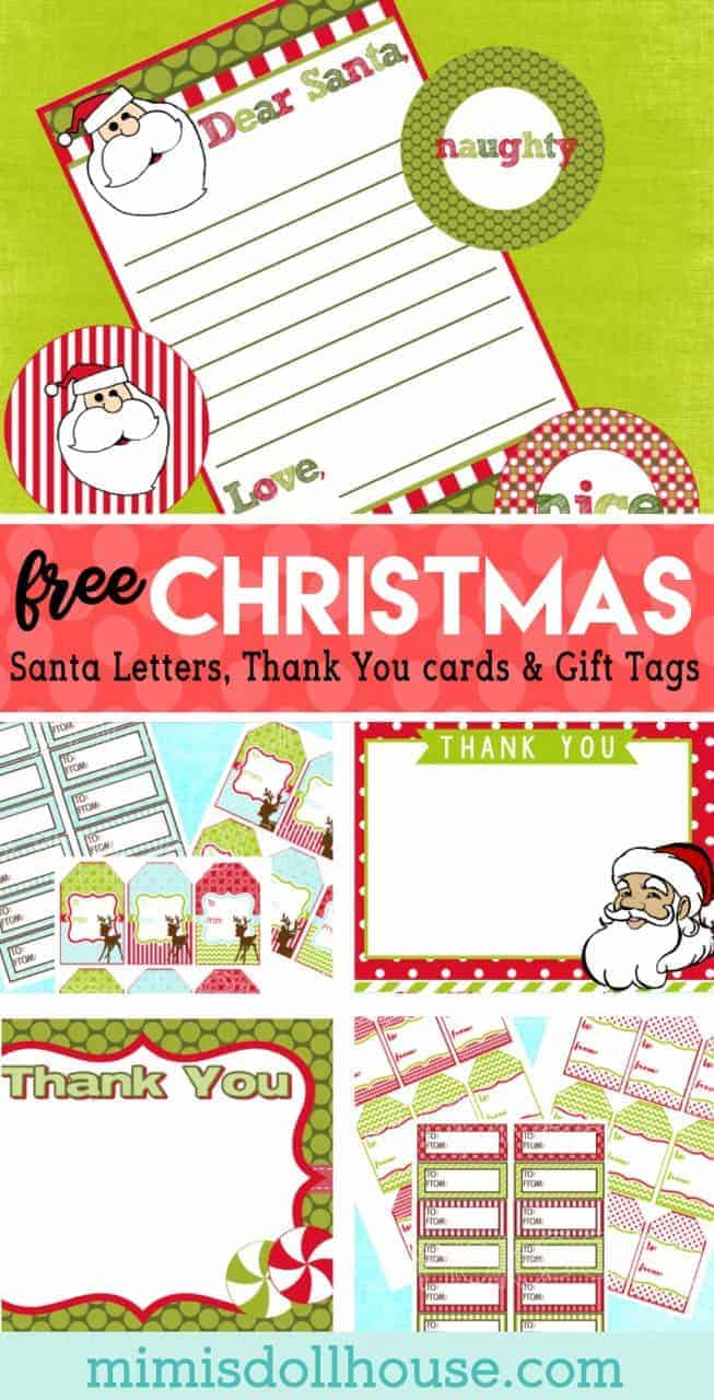 Christmas: FREE Christmas Gift Supplies | Mimi\'s Dollhouse