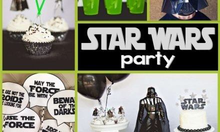 Jedi Training Star Wars Party + Free Printables