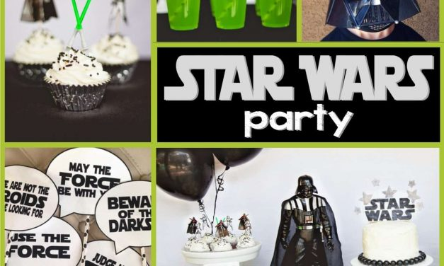 Star Wars Party: Jedi Jaxon's Star Wars 4th Birthday Party