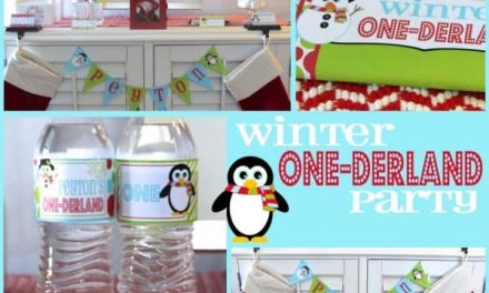 Winter One-derland Party: Winter First Birthday Party
