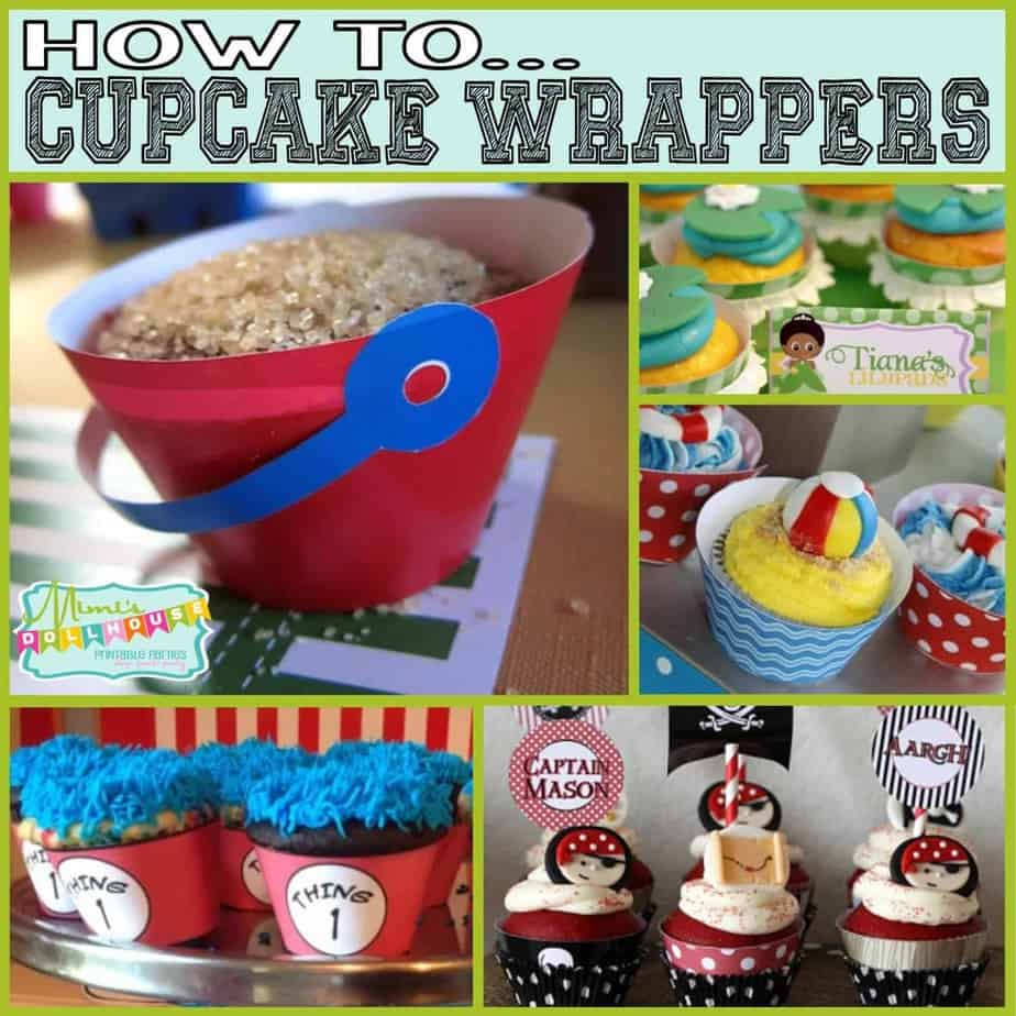 How To: Cupcake Wrappers