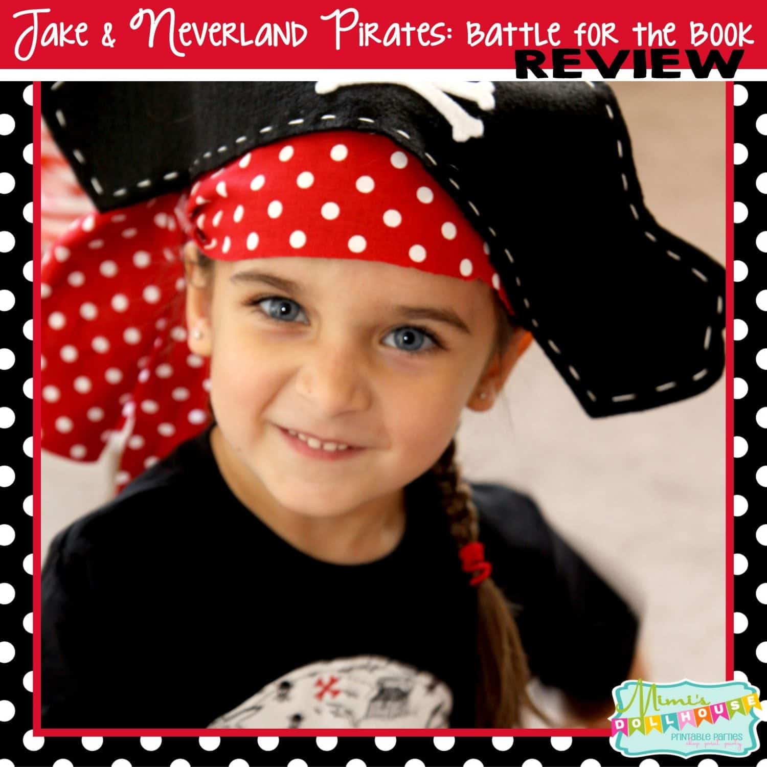 Product Review: Jake and the Neverland Pirates- Battle for the Book DVD