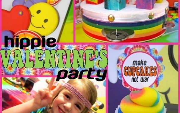 Valentine's Day: Hippie Valentine's Day Party