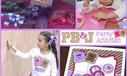 Sweet + Sticky PB&J Party Games