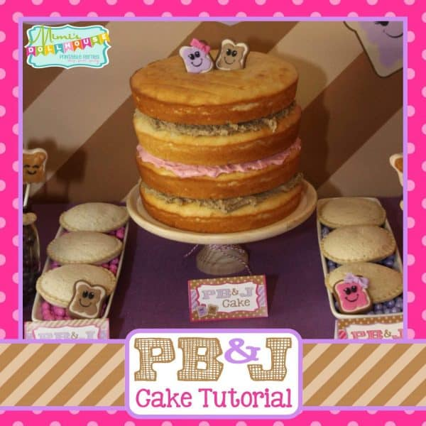 PB&J Cake Tutorial Pic