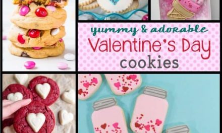 Lovely + Sweet Valentine's Day Cookies