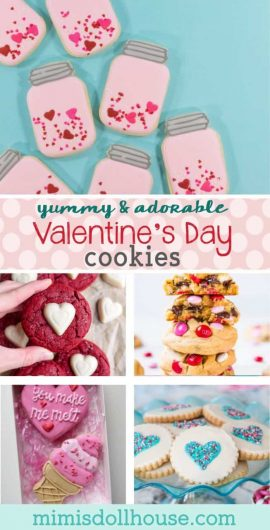 "Valentine's Day: Sweet Valentine's Day Cookies.  Looking for some sweet treats for Valentine's Day?  How about some Valentine's Day cookies?  Baking for Valentines is a great way to say ""I love you""!!! Be sure to check out our other Valentine's day treat ideas.  #baking #cookies #valentine #valentines #valentinesday #parties #partyideas #holiday"