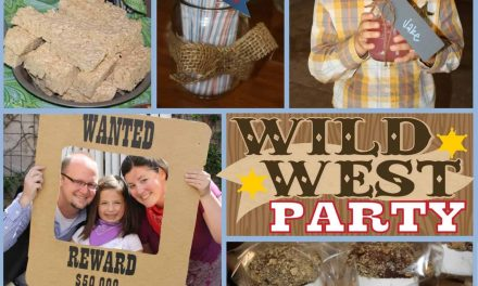 Cowgirl Party: Sheriff Chevy's Wild West Party