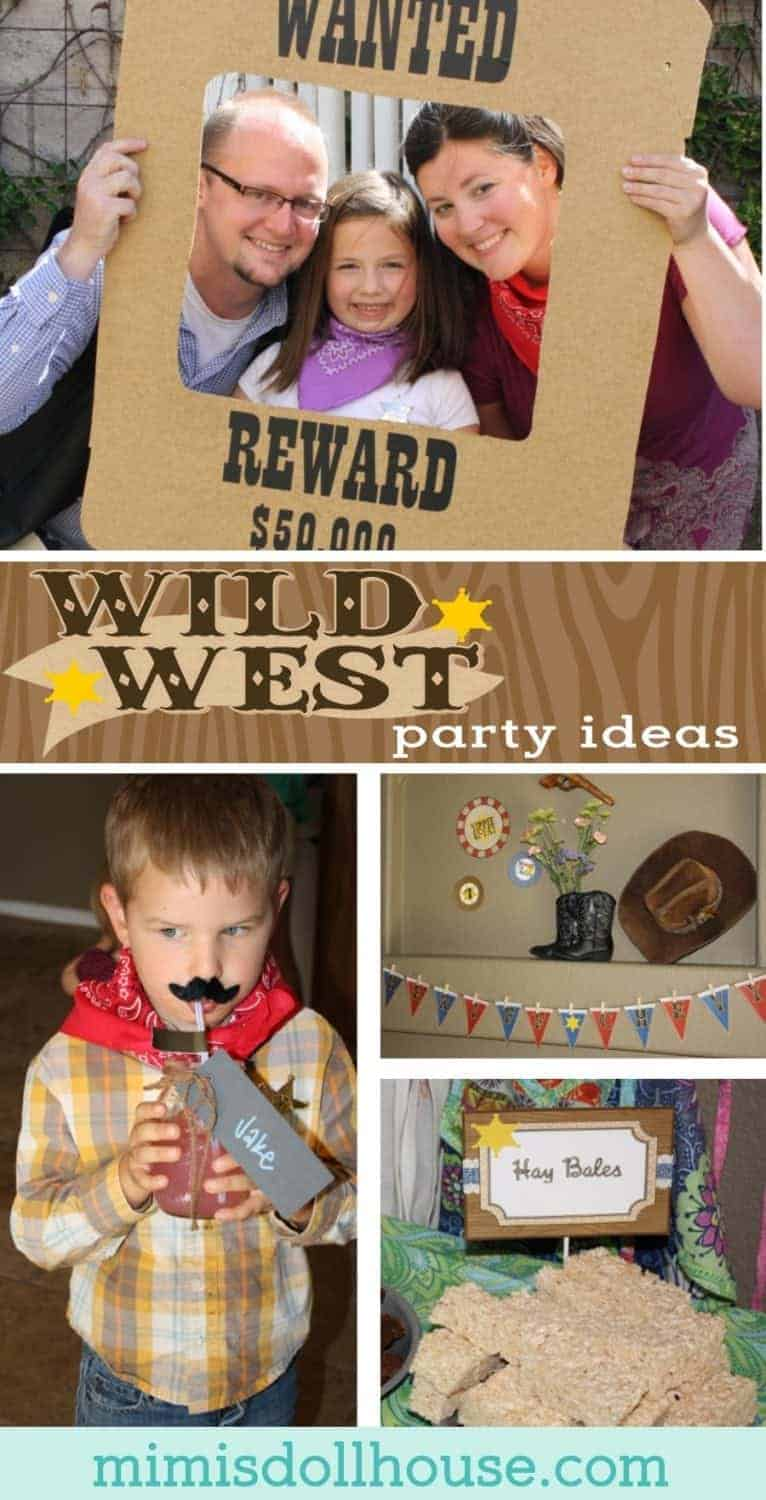 Cowgirl Party: Sheriff Chevy's Wild West Party.  Yee-haw!  Looking for some wild west party ideas? Today I'm sharing a cute Wild West party full of cowgirl charm.  Looking for cowboy themed desserts?  Be sure to check out these cowboy party ideas, this Cowboy Party and all our cowboy inspiration and ideas!
