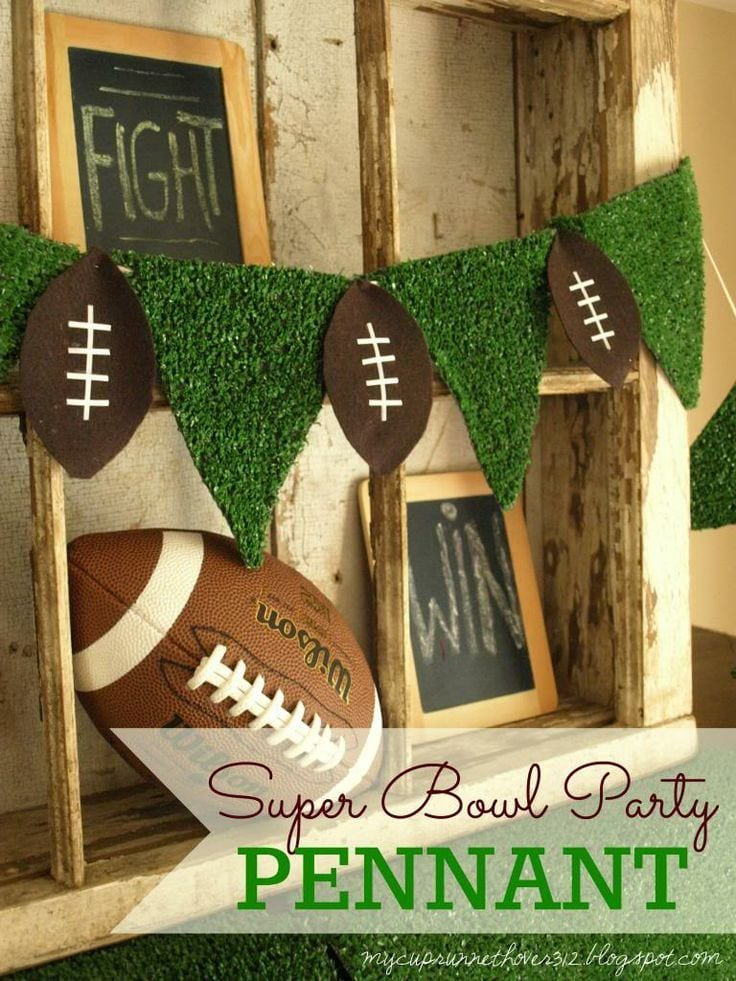 Super Bowl Party Diy Football Party Decor Mimi S Dollhouse