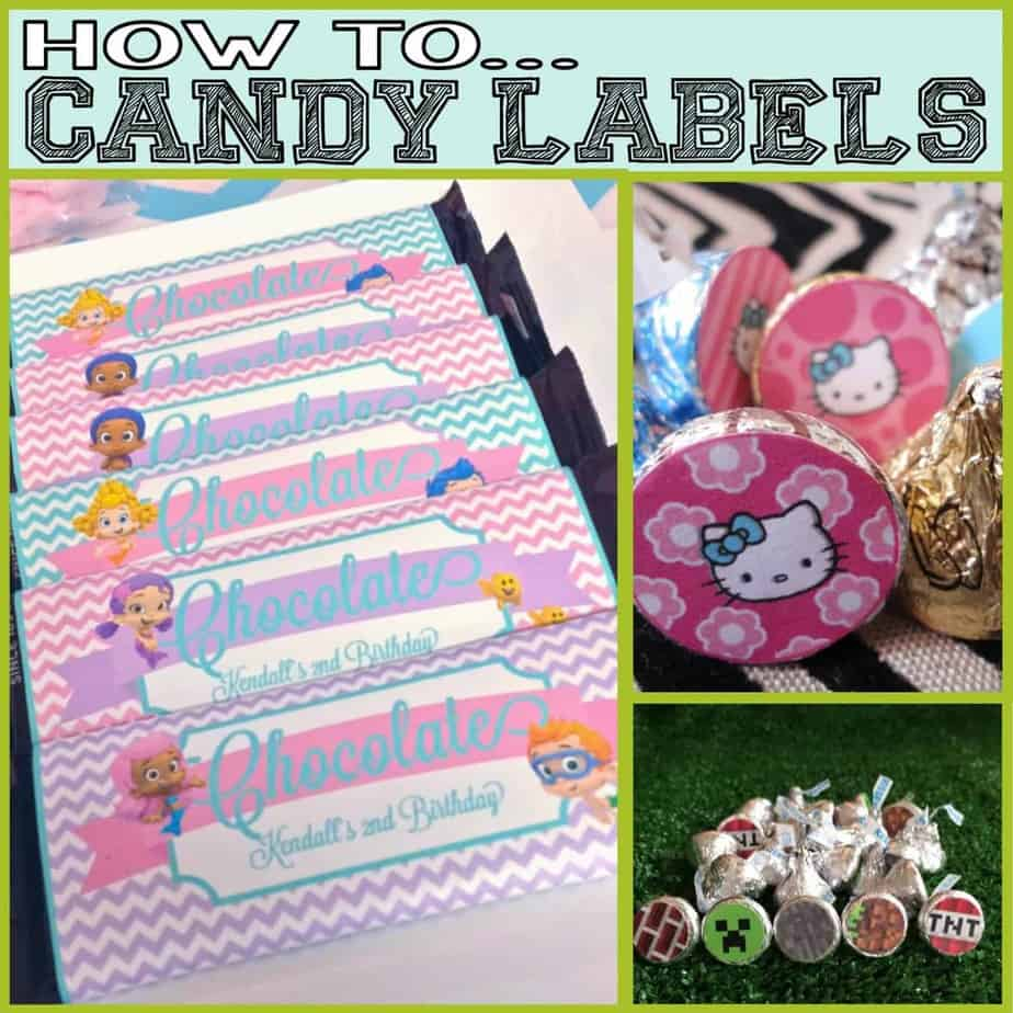 How To: Candy Labels