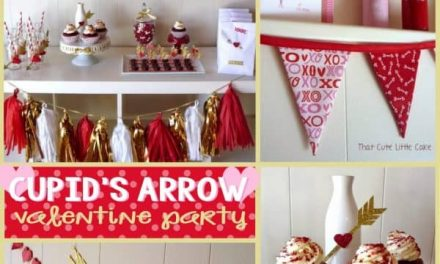 Cupid's Arrow Party for Valentine's Day