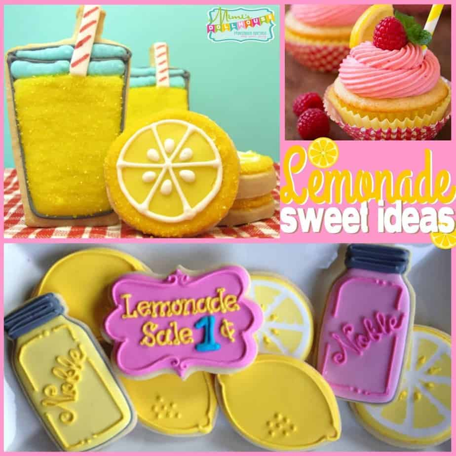 Lemonade Party: Cookies and Sweets