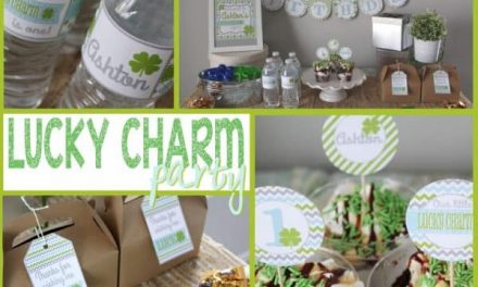 Lucky Charm Party perfect for a Birthday