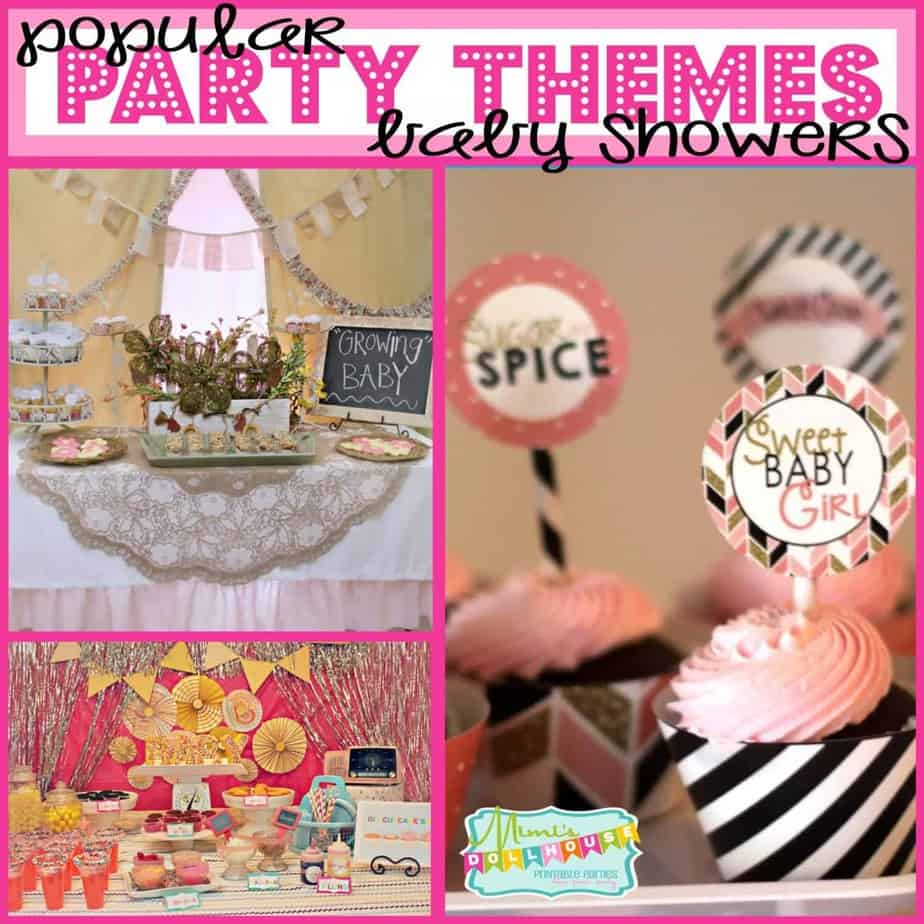 Trends: Popular Themes for Baby Showers (Part 2)