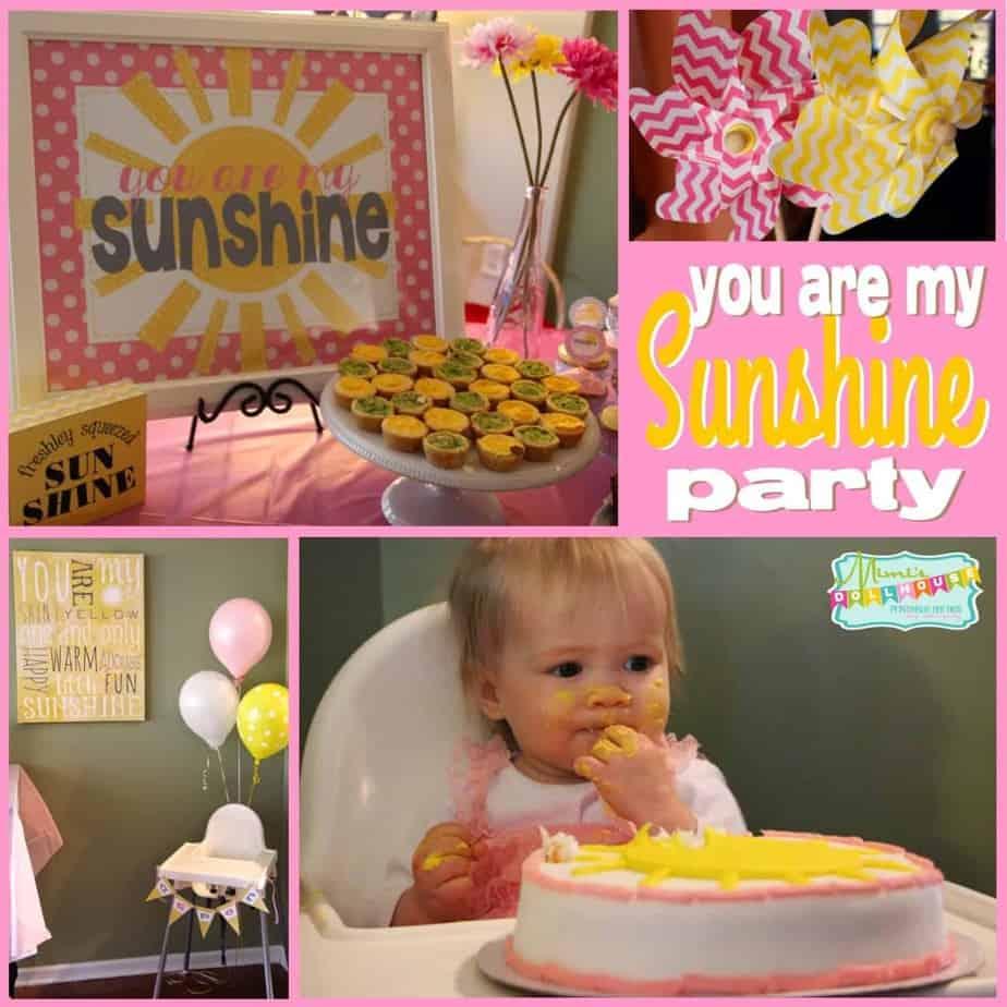 Sunshine Party: You are my Sunshine, My Only Sunshine