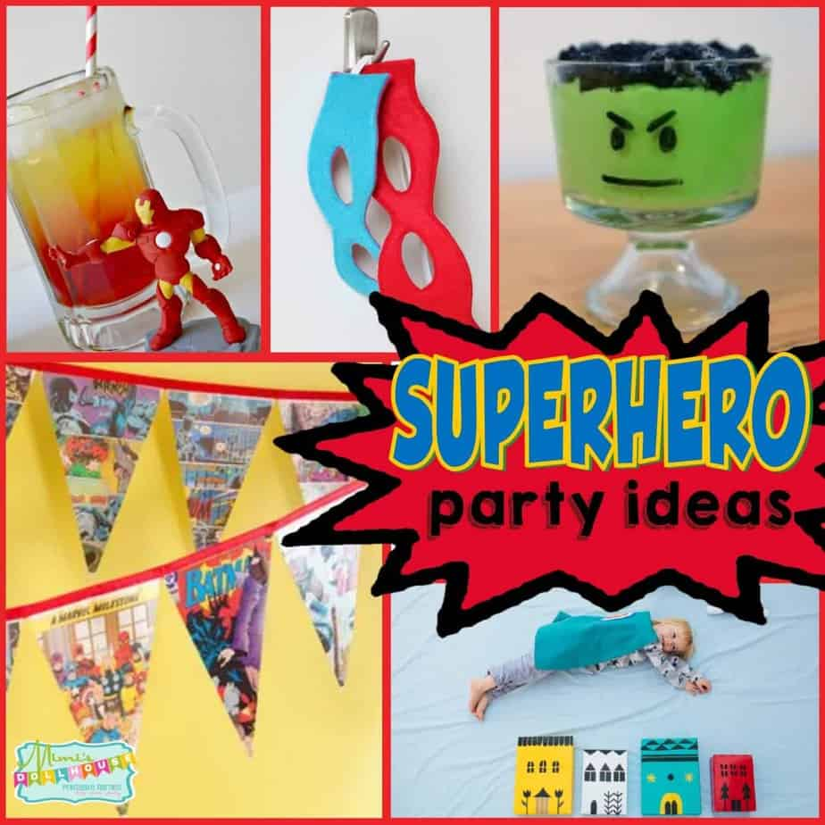 "Super Hero Party: Ideas for a ""Super"" Hero Bash"