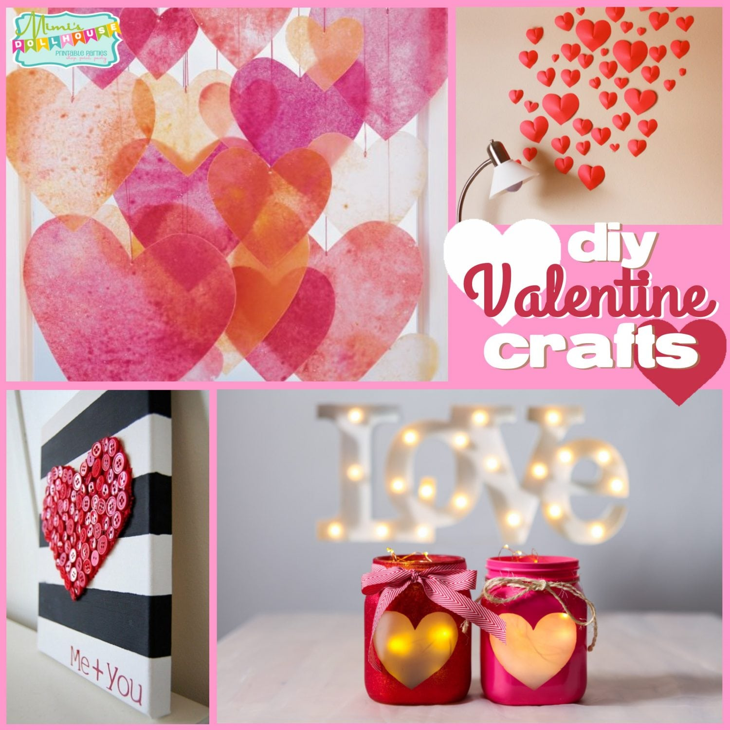 Valentine's Day: Cute Valentine Crafts